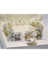 Bridesmaid Gift, Bridesmaid Charm Bracelet with Personalised Presentation Plaque, Bridesmaid Gift Idea