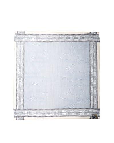 Fendi Women's Patterned Scarf, Blue