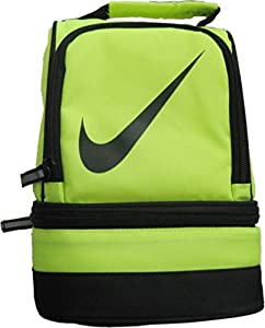Amazon.com: Nike Dome Lunch Bag Neon Yellow Color: Kitchen & Dining