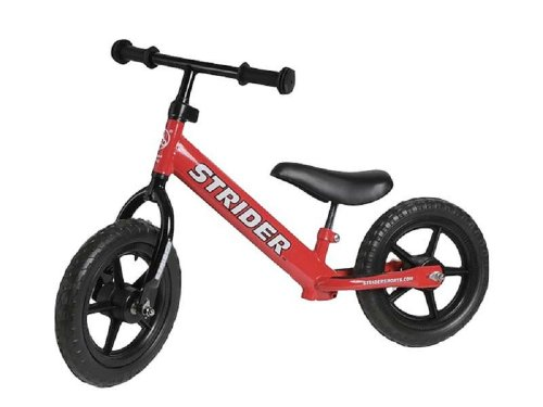 Strider PREbike Balance Running Bike, Red