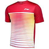 NEW LI-NING LINING MEN T-SHIRT - RED ATSL393-2