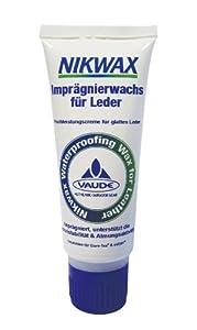 VAUDE Pflegemittel Nikwax Waterproofing Wax for Leather, Black, 100 ml, 30017