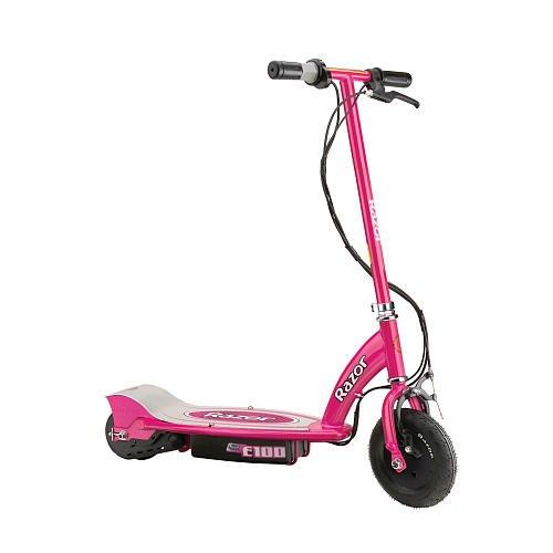 Razor Pink E100 Scooter