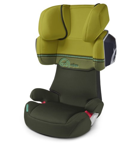 Cybex 513115003 Solution X2 Autositz, Graffiti-green