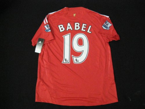 08-09 NEW LIVERPOOL JERSEY BABEL WITH TAGS + FREE SHORT (SIZE XL)