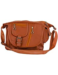 IGYPSY SWITCHER Brown O3 Hand Bag Handbags Tote Sling Synthetic Leather Cross Body Bags For Ladies Women Girls...