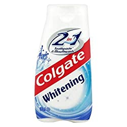 Colgate Whitening 2 in 1 Toothpaste & Mouthwash 100 mL