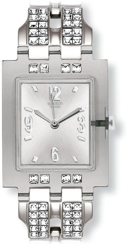 Swatch Ladies Be Found Silver Dial Bracelet Watch