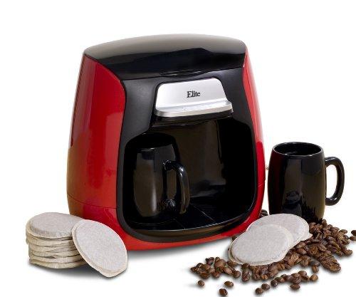 Java Pod Coffee Maker : MaxiMatic EHC-233 Elite Cuisine Dual Cup Pod CoffeeTea Maker - coconuas132