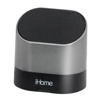 Ihome Rechargeable Mini Speaker Silv (Ihm63S) -