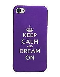 KolorEdge Back Cover For Apple iPhone 6 Plus - Purple (2176-Ke15082iPhone6PlusPurple3D)