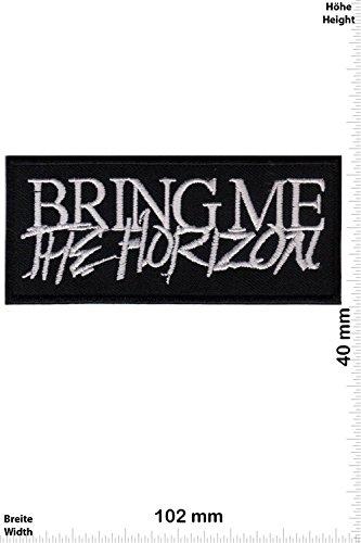 Patch - Bring Me the Horizon - Metalcore - Deathcore-Band - MusicPatch - Rock - Chaleco - toppa - applicazione - Ricamato termo-adesivo - Give Away