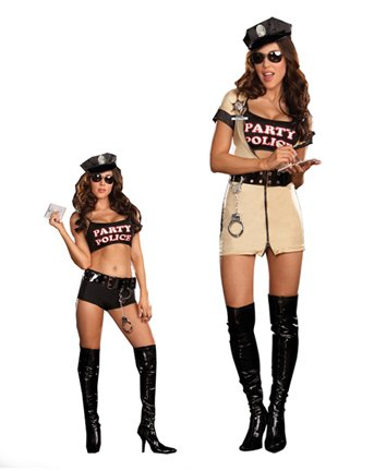 Sexy Party Police Adult Costume