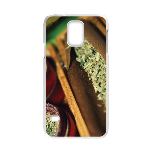 Generic Mobile Phone Cases Cover For Samsung Galaxy S5 Case Country American Flag Marijuana Cannabis Weed Hemp Leaf Smoker Design Custom Made Hard Snap On Cell Phones Shell Protect Skin