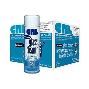 CRL Sprayway S50 Glass Cleaner - 12 Cans (Case) from C.R. Laurence