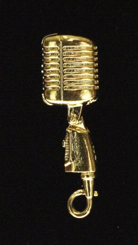Harmony Jewelry Shure 55Sh Microphone Pin - Gold