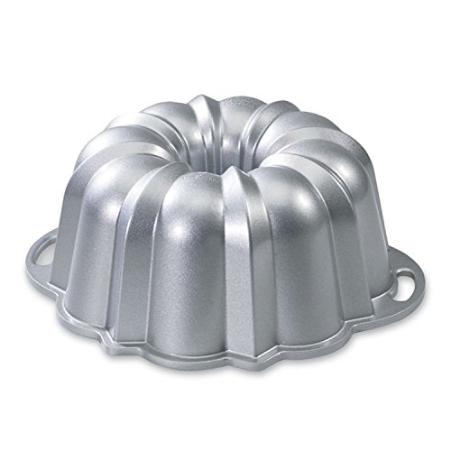 Nordic Ware Platinum Collection Anniversary 10- to 15-Cup Bundt Pan (Cast Iron Bundt Pan compare prices)
