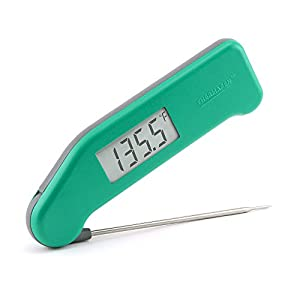 ThermoWorks Super-Fast Thermapen (Teal) Professional Thermocouple Cooking Thermometer