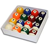 Empire USA Deluxe Pool Ball Set Standard Size 2-1/4""