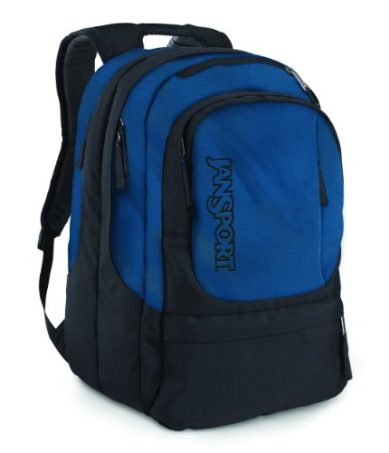 B004SU7SDA JanSport Air Cure Backpack (Navy/Forgegrey)