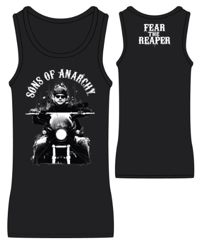 Sons of Anarchy Fear the Reaper Women's Licensed Tank Top (S)