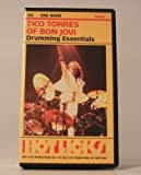VHS AUDIO BOOK [ TICO TORRES OF BON JOVI ] TEACHING DRUMMING ESSENTIALS