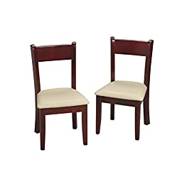 Gift Mark Children\'s Chair Set with Seat, Cherry