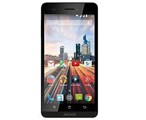 Archos 50B Helium Smartphone débloqué 4G (Ecran: 5 pouces - 8 Go - Double SIM - Android 4.4 KitKat) Noir