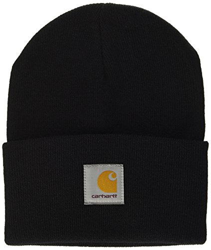 carhartt-unisex-fedora-acrylic-watch-hat-schwarz-black-one-size