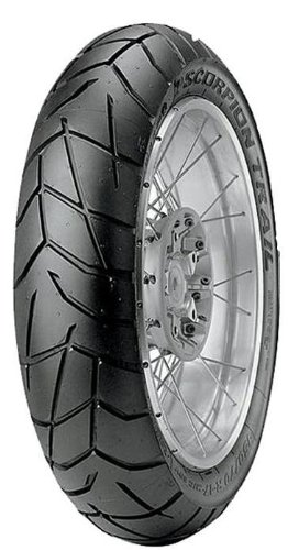 Pirelli Scorpion Trail Tire – Rear – 180/55VR-17 , Position: Rear, Rim Size: 17, Tire Application: All-Terrain, Tire Size: 180/55-17, Tire Type: Dual Sport, Load Rating: 73, Speed Rating: W 2111200