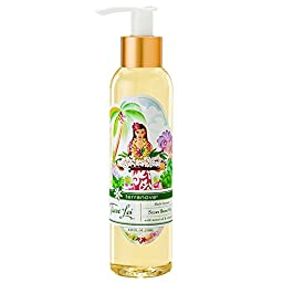 Terranova Tiare Lei Silky Body Oil with Monoi Oil and Noni, 8.25 Ounce
