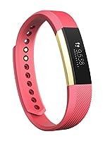 Fitbit Pulsera de Fitness Alta (Rosa / Oro)