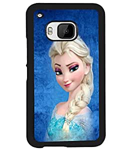 Fuson 2D Printed Girly Designer back case cover for HTC One M9 - D4573