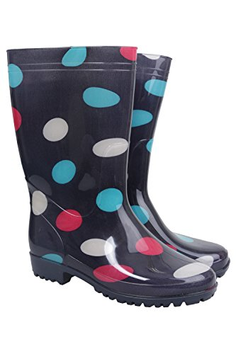 Mountain Warehouse Stivali di Gomma da Donna Rain Spot Blu navy 37