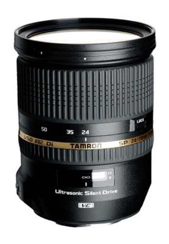 Tamron SP 24-70mm f/2.8 Di VC USD Lens (Canon EF Mount)