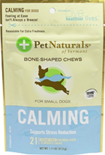 Dog Supplies Calming For Small Dogs Chews - 21 Ea