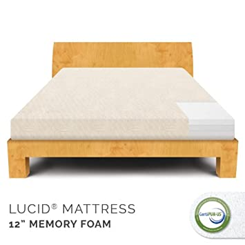 Perfect  Plush Memory Foam Mattress CertiPUR US