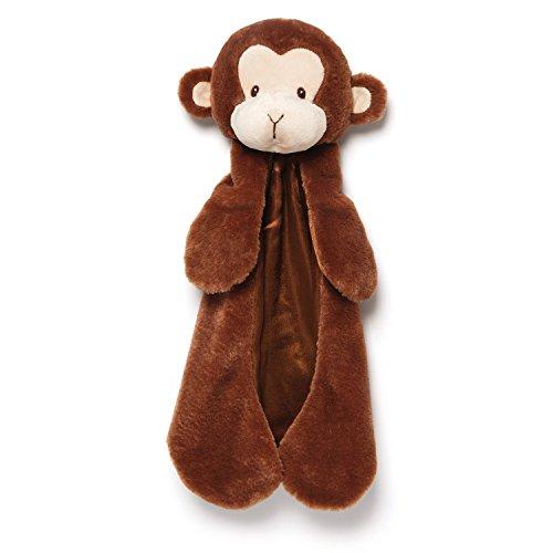 Gund Baby Nicky Noodle Monkey Huggybuddy Baby Blanket