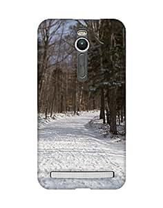 Mobifry Back case cover for Asus Zenfone 2 ZE551ML Mobile (3D Printed design)