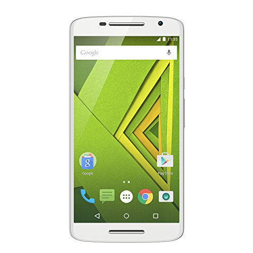 Moto X Play Smartphone (13,9 cm (5,5 Zoll) Display, 16 GB Speicher, Android 5.1) weiß