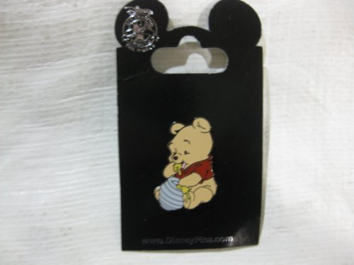 Disney Pin Baby Pooh Eating Honey Home Garden Kitchen