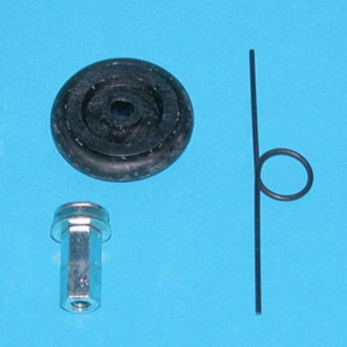 Light Rail Trolley Replacement Kit - Tension Spring - O-Ring - Nut - Bolt - Gualala Robotics LRDWORKIT from Gualala