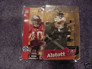Mike Alstott #40 Tampa Bay Buccaneers White Jersey Chase Alternate Variant McFarlane... by Unknown