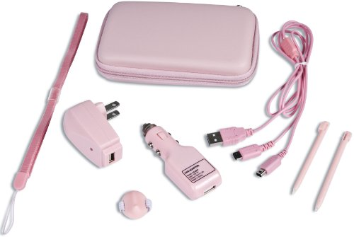 DS/DSi Supreme 8 in 1 Accessory Kit - Pink