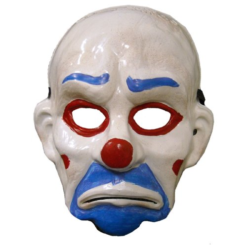 Rubie's Child Joker Vinyl Mask w/Hair