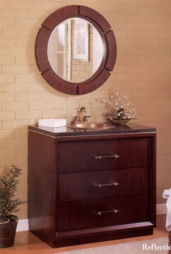 Buy Reflection Sink And Mirror By Acme Furniture (Cross Sinks, Plumbing, Sinks, Bathroom, Pedestal)