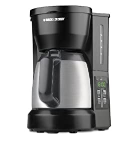 Coffee Maker Carafe That Doesnot Drip : Amazon.com: Black & Decker DCM675BMT 5-Cup Programmable Coffee Maker with Carafe, Black ...