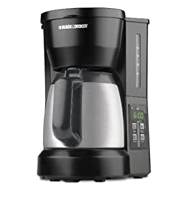 Amazon.com: Black & Decker DCM675BMT 5-Cup Programmable Coffee Maker with Carafe, Black ...