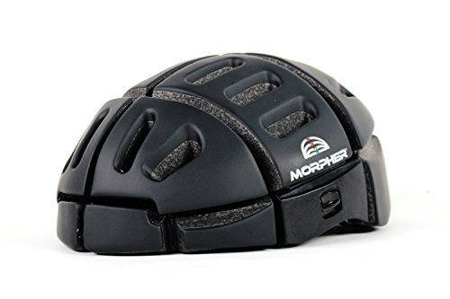 Vélo Line(ベロライン) 折畳みヘルメット ブラック 世界中で数々の賞を受賞しているフォールディングヘルメット EN1078試験合格モデル Mサイズ(52cm-58cm) バッグの中にも仕舞える高機能ヘルメット 86905-0199