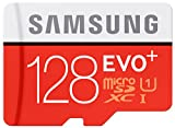 Samsung Memory 128 GB EVO Plus MicroSDXC UHS-I Grade 1 Class 10 Memory Card with SD Adapter (Frustration Free Packaging)